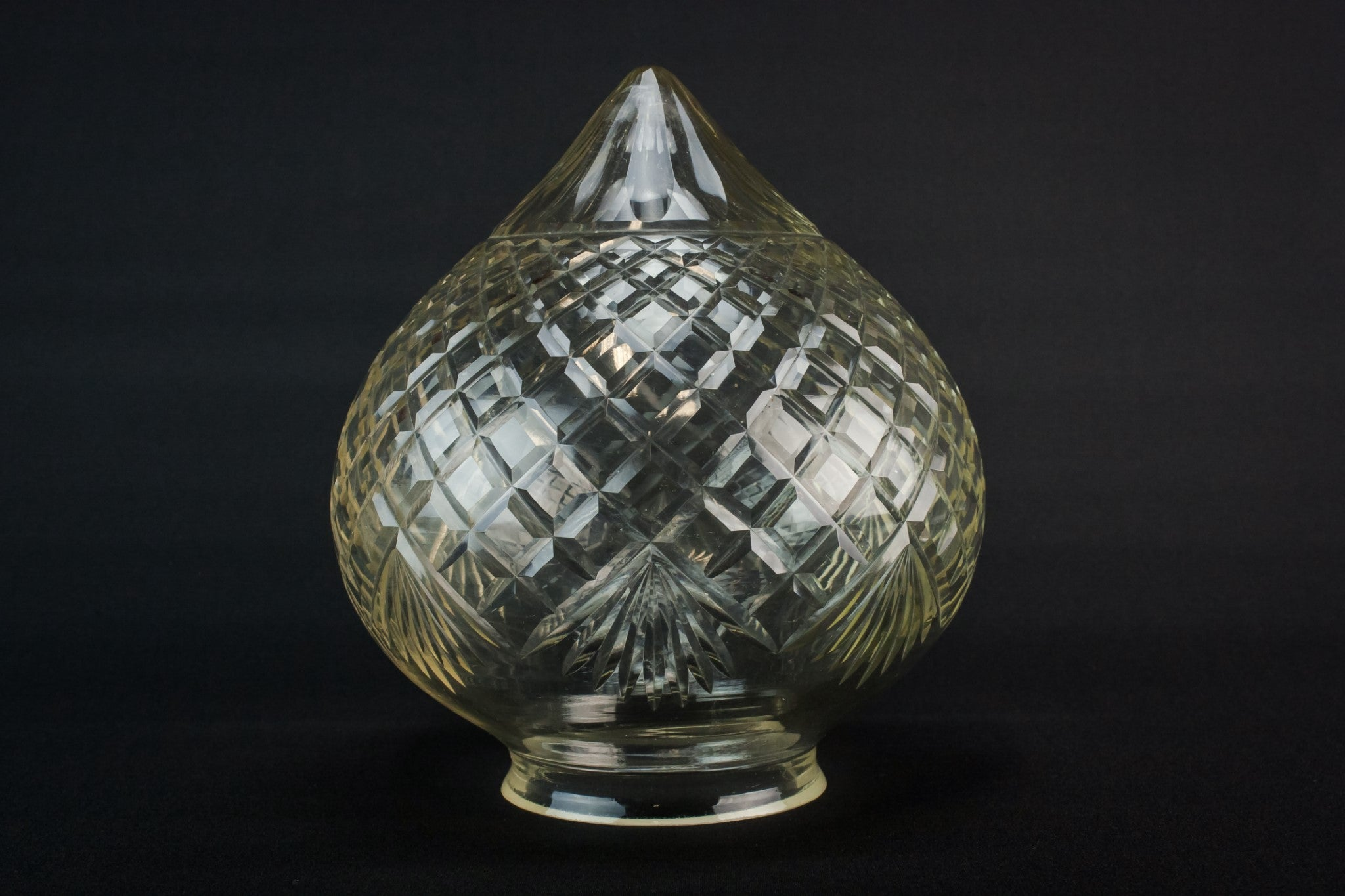 Art Deco glass lamp shade