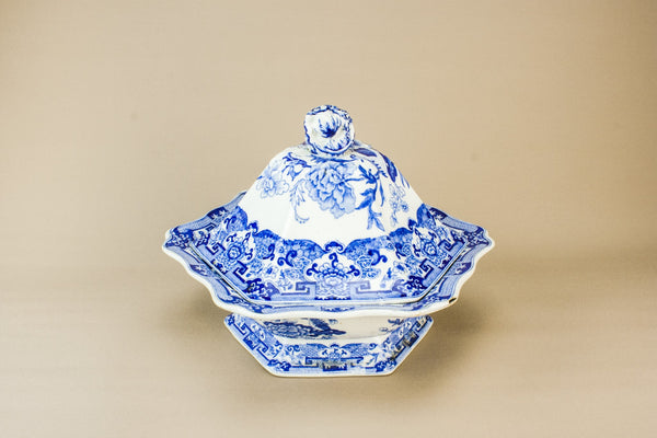 Masons pottery tureen