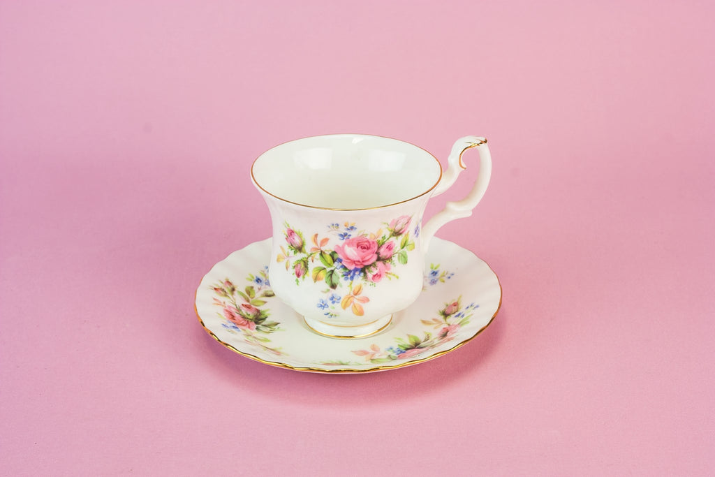Bone china tea set for four