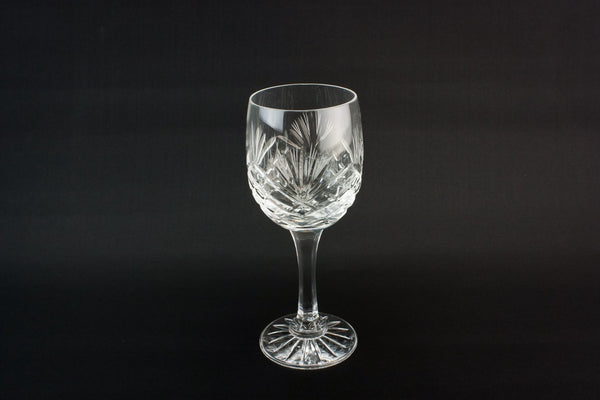 6 large wine glasses