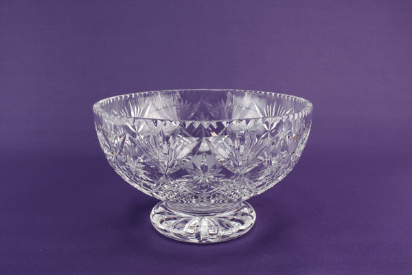 Webb Corbett crystal bowl