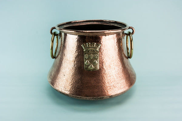 Large copper wine cooler