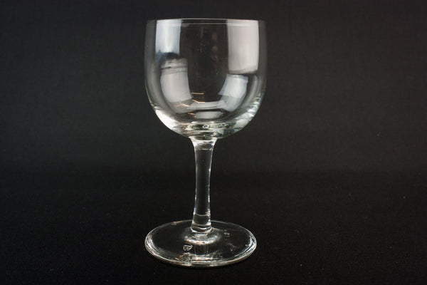 2 medium port glasses