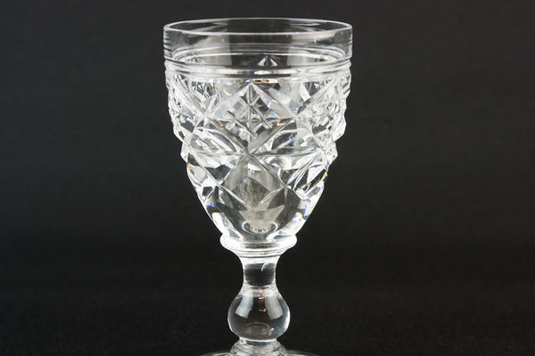 Stuart port glass