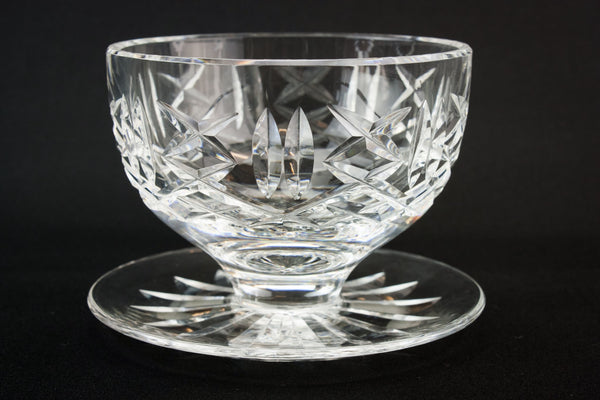 Waterford glass dessert bowl