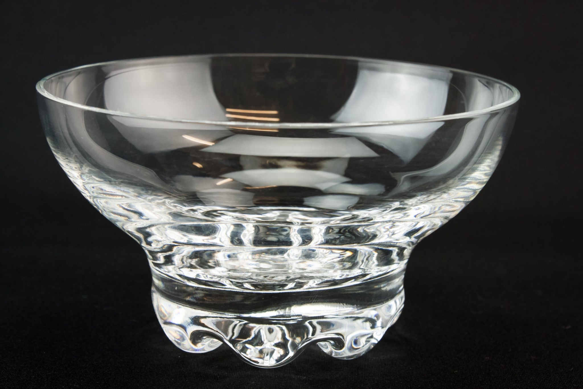 6 glass dessert bowls