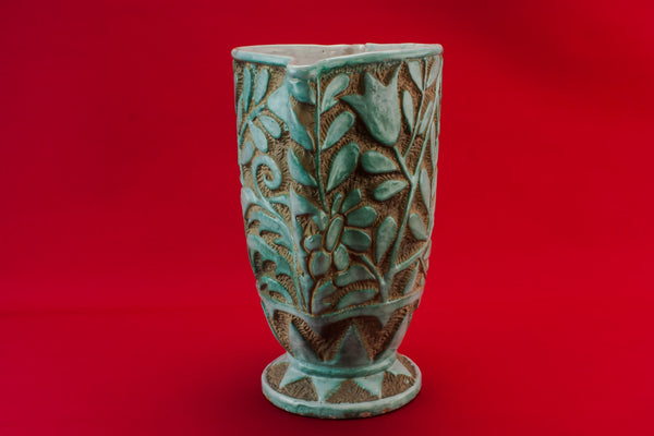 Tall tapered vase