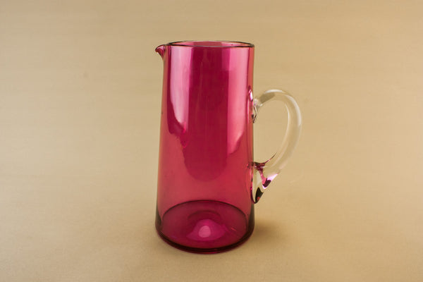 Water cranberry red jug