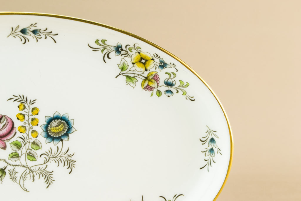 Minton bone china serving dish