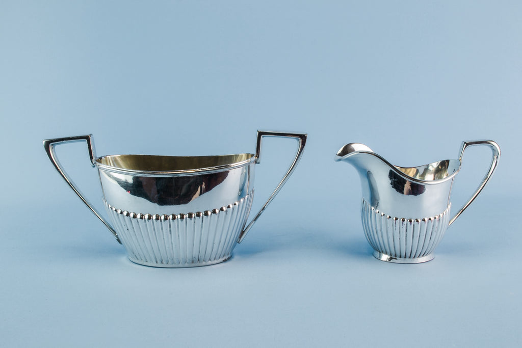 Silver plated coffee set