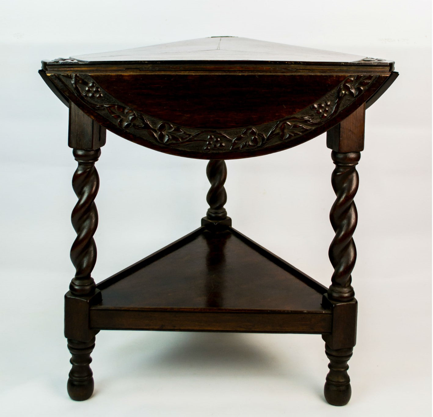 Cricket oak table