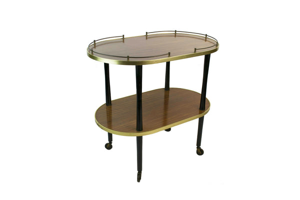 Modernist tea trolley
