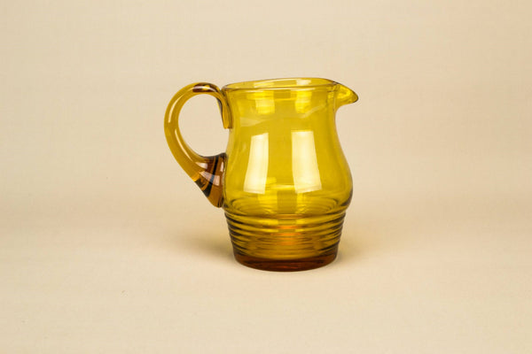 Art Deco glass jug