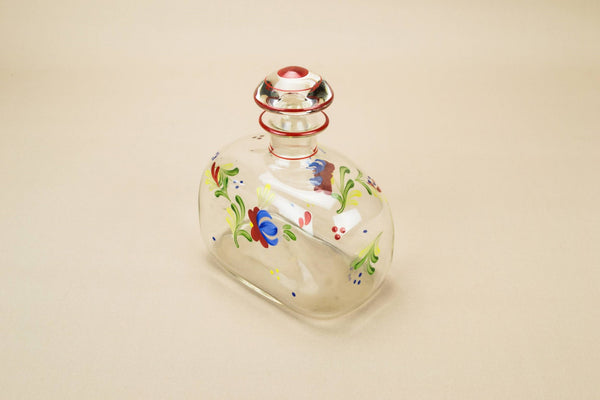 Art Deco square decanter