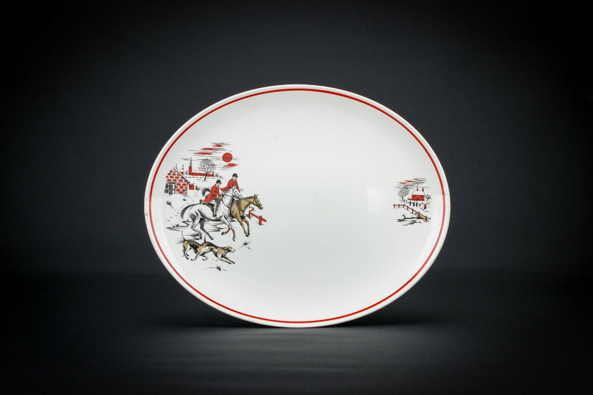 Countryside serving platter
