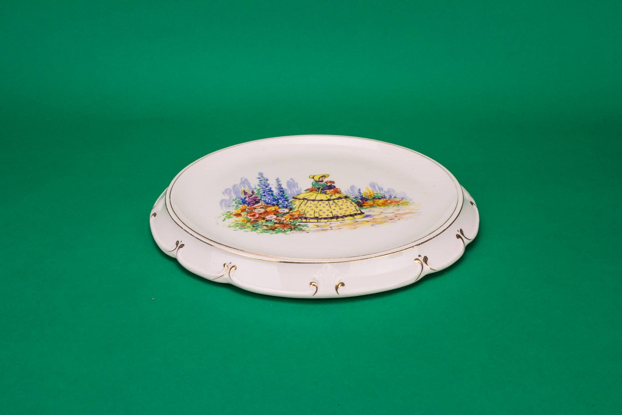 Art Deco serving platter