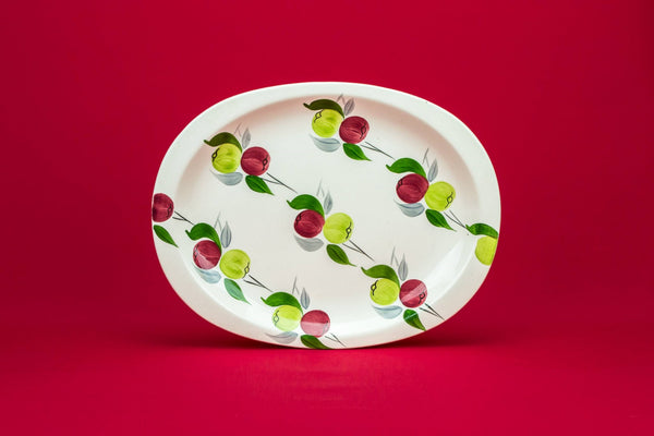 Colourful serving platter