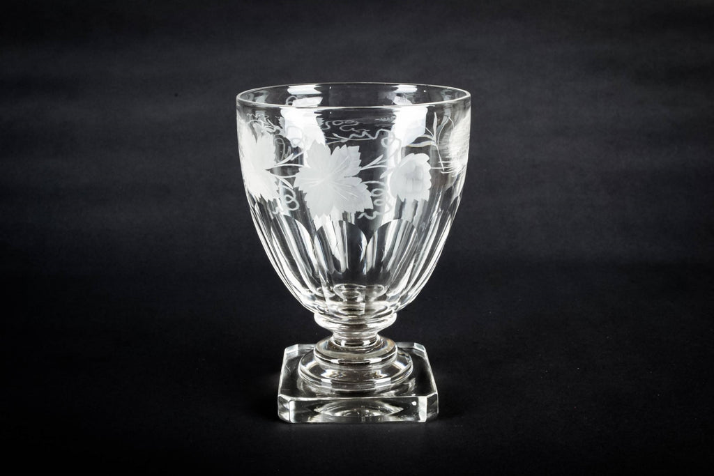 Large glass rummer