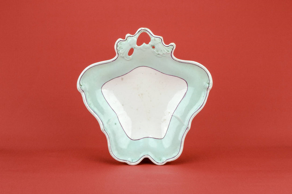 Turquoise serving dish