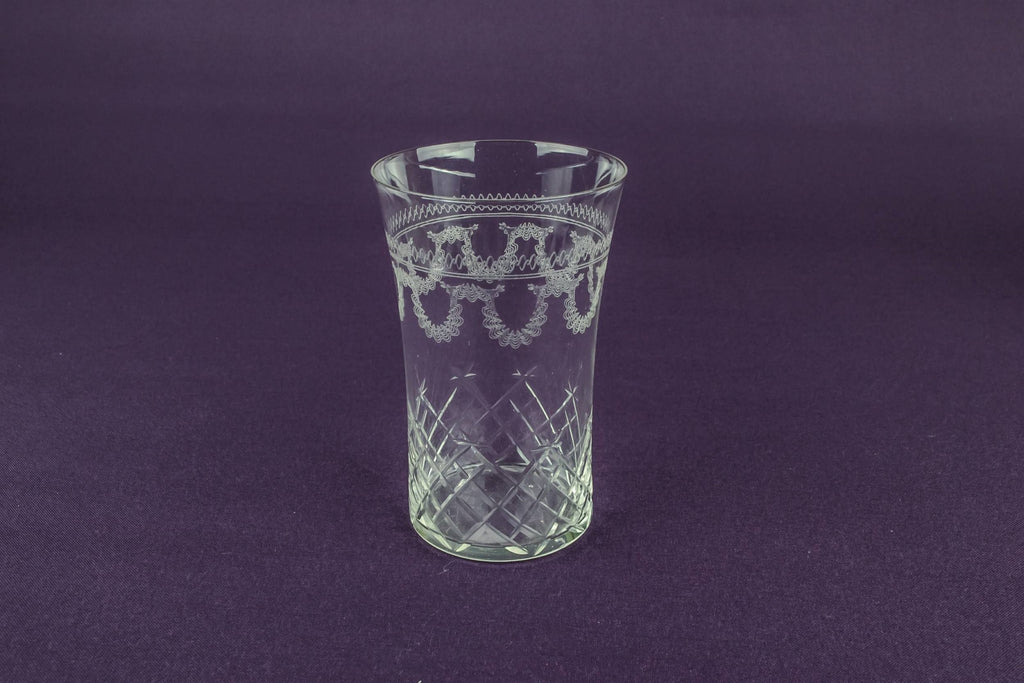 4 Pall Mall glass tumblers