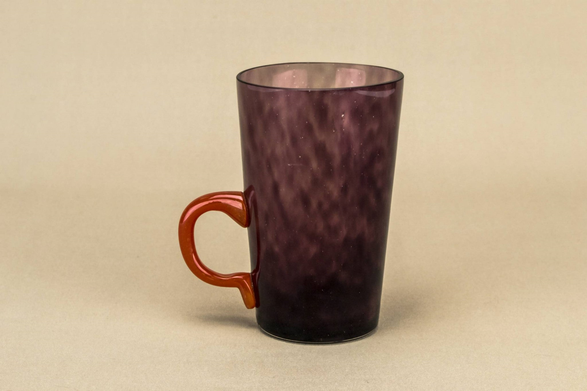 Amethyst glass cup