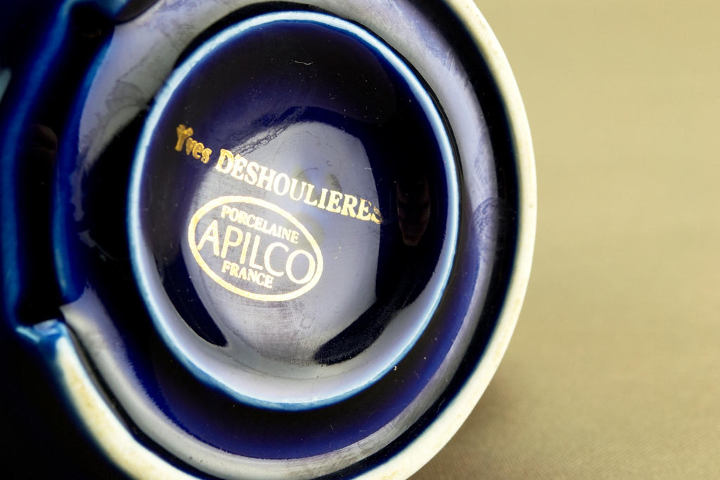 French Apilco blue creamer