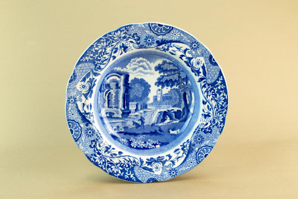Blue and white Copeland bowl, mid 19th c