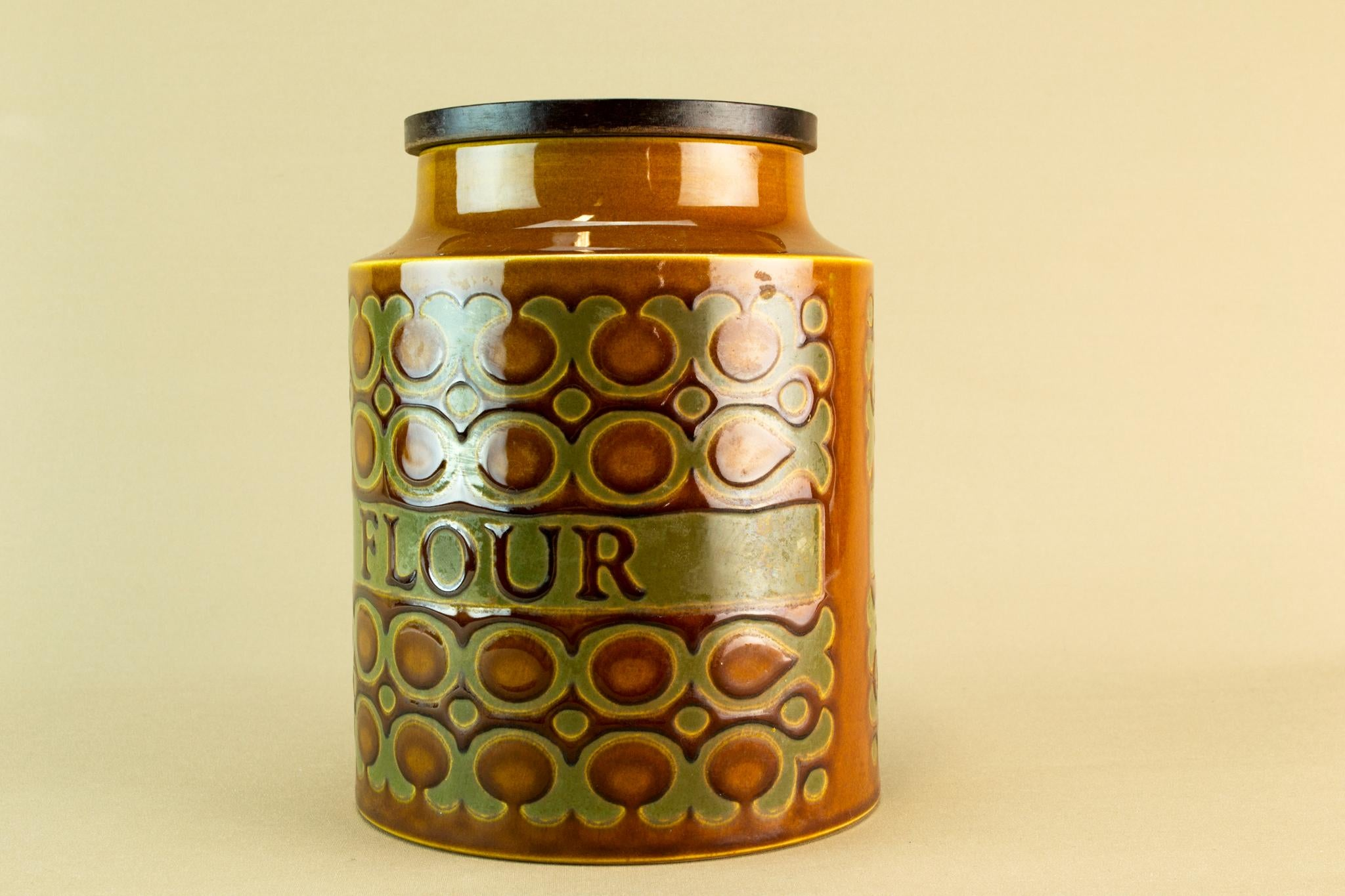 Large flour storage jar, 1970s