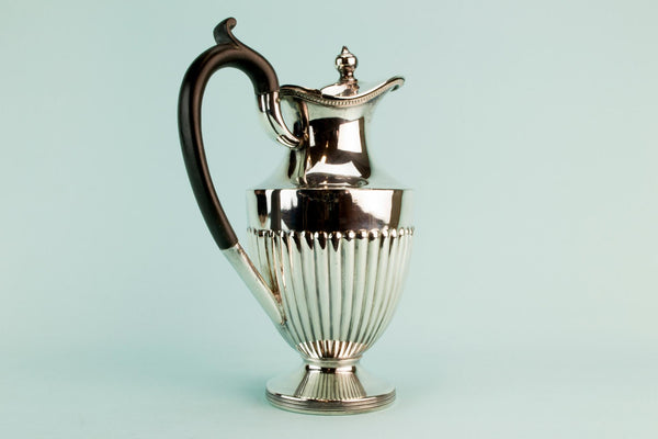 Silver plated coffee pot, early 1900s