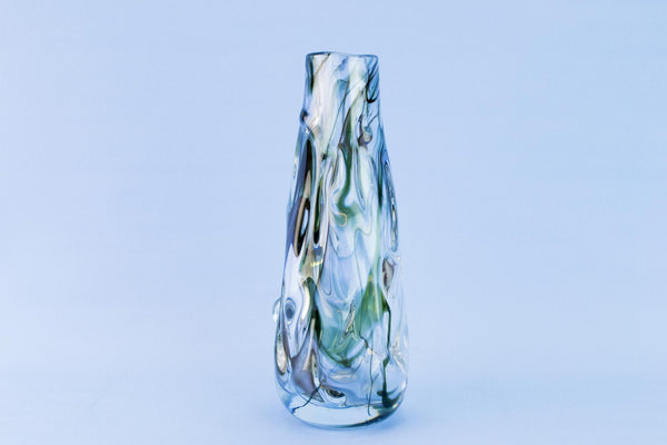 Whitefriars glass vase, 1960s