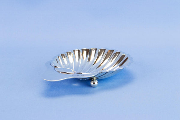 Sterling Silver shell butter dish, 1907