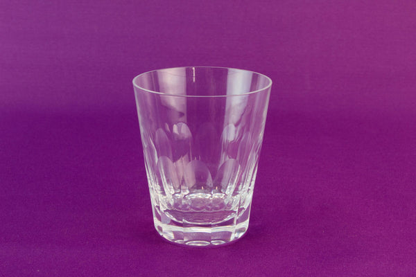 4 Whitefriars whisky glass tumblers