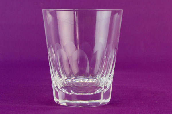 Whitefriars whisky glass tumbler