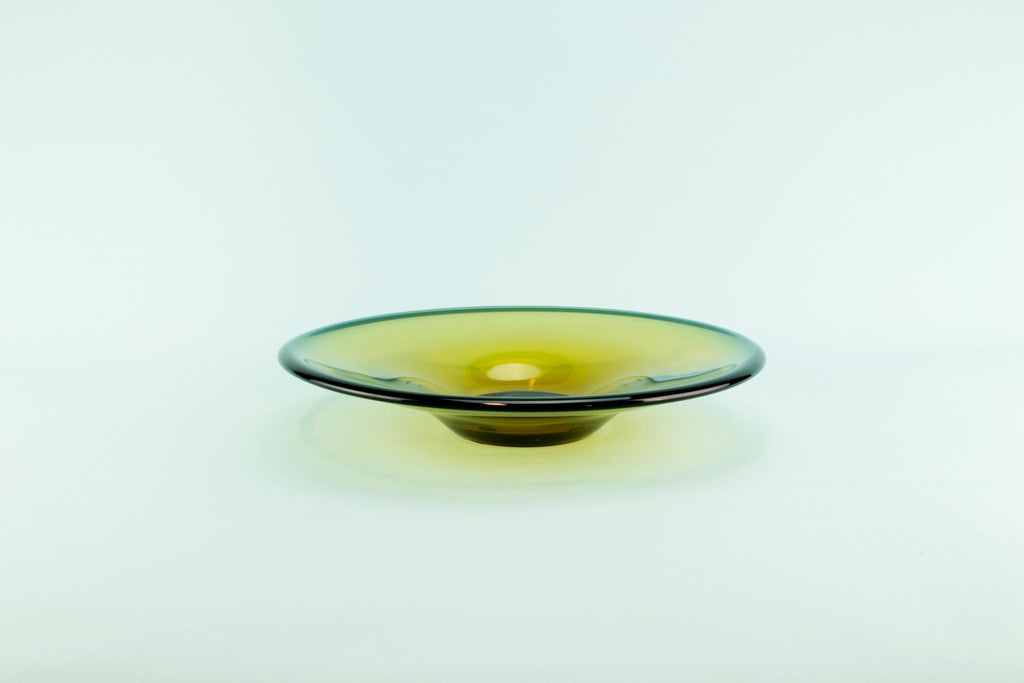 Whitefriars glass bowl, English circa 1970