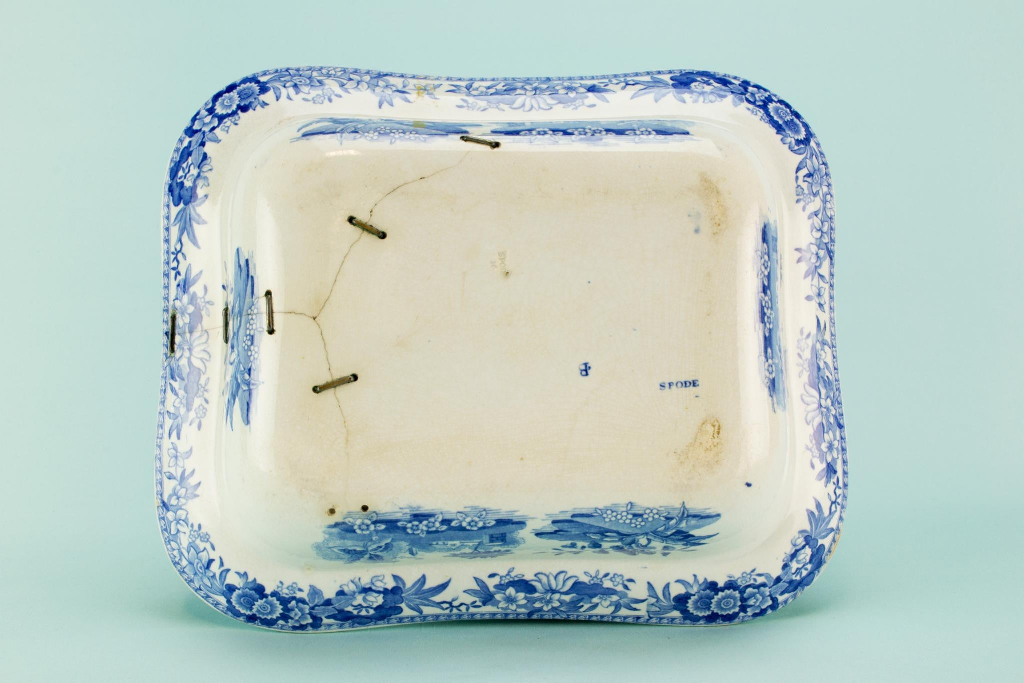 Blue & White Spode bowl, mid 19th C