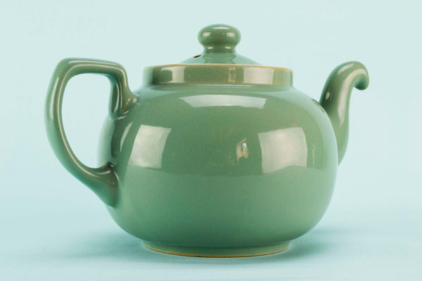 Large green Denby teapot