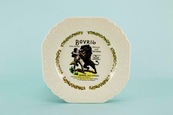 Novelty serving plate Bovril