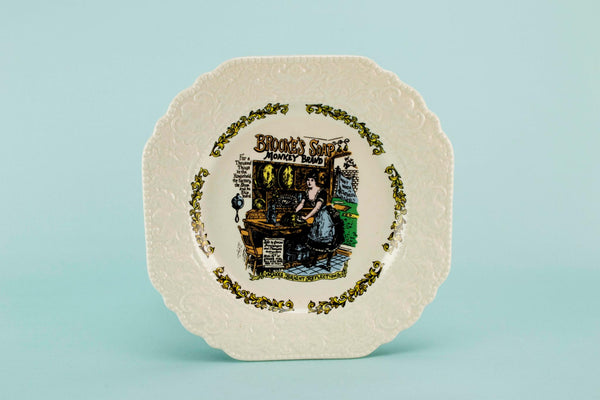 Novelty serving plate Brooke's Soap
