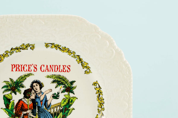 Novelty serving plate Price's Candles