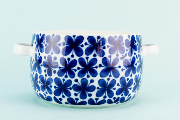 Blue and White Mon Amie Casserole