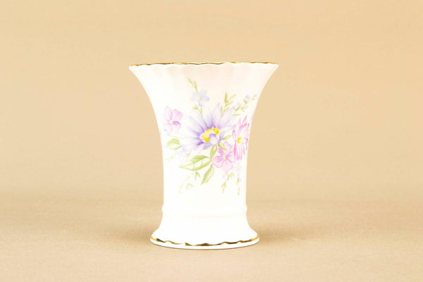 Small bone china vase