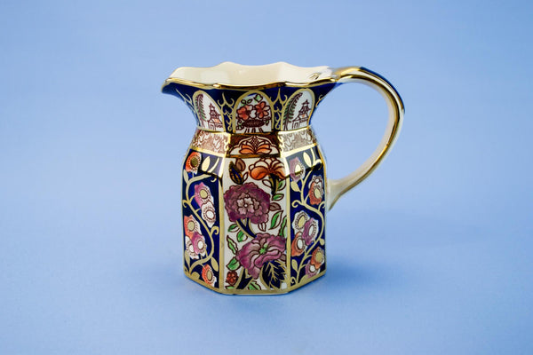 Masons floral milk jug
