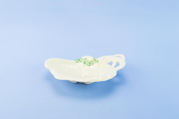Belleek decorative dish, Irish 1920s