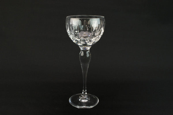4 English Royal Brierley wine stem glasses
