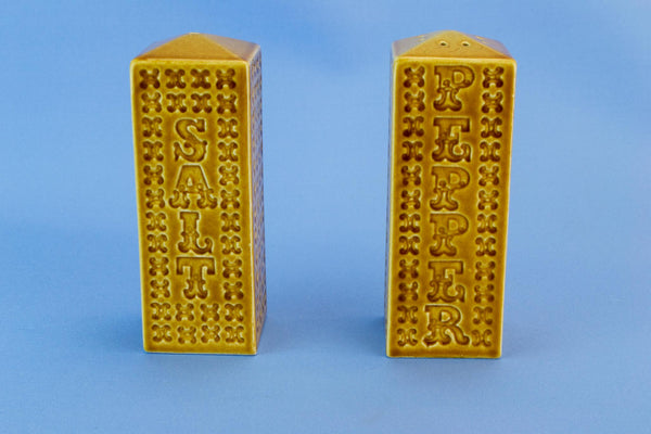 Salt & Pepper Shakers, English circa 1970