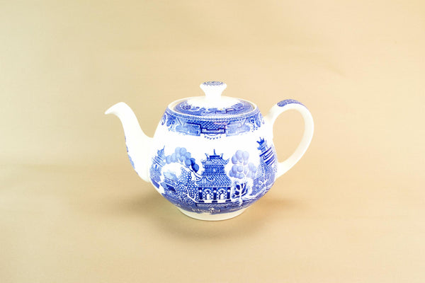 Blue willow Alfred Meakin teapot