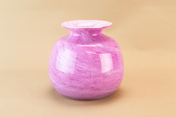 Pink Alum Bay glass vase