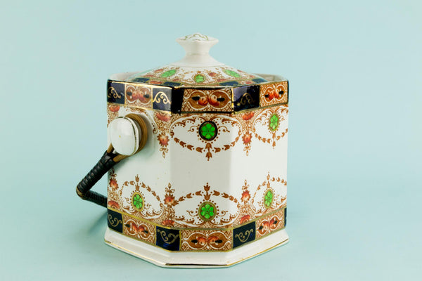 Octagonal ice bucket, English 1920s