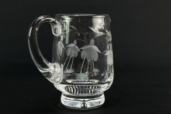 Cut glass Stuart crystal milk jug