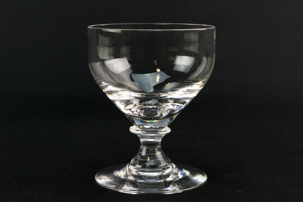 4 Whitefriars port or sherry glasses